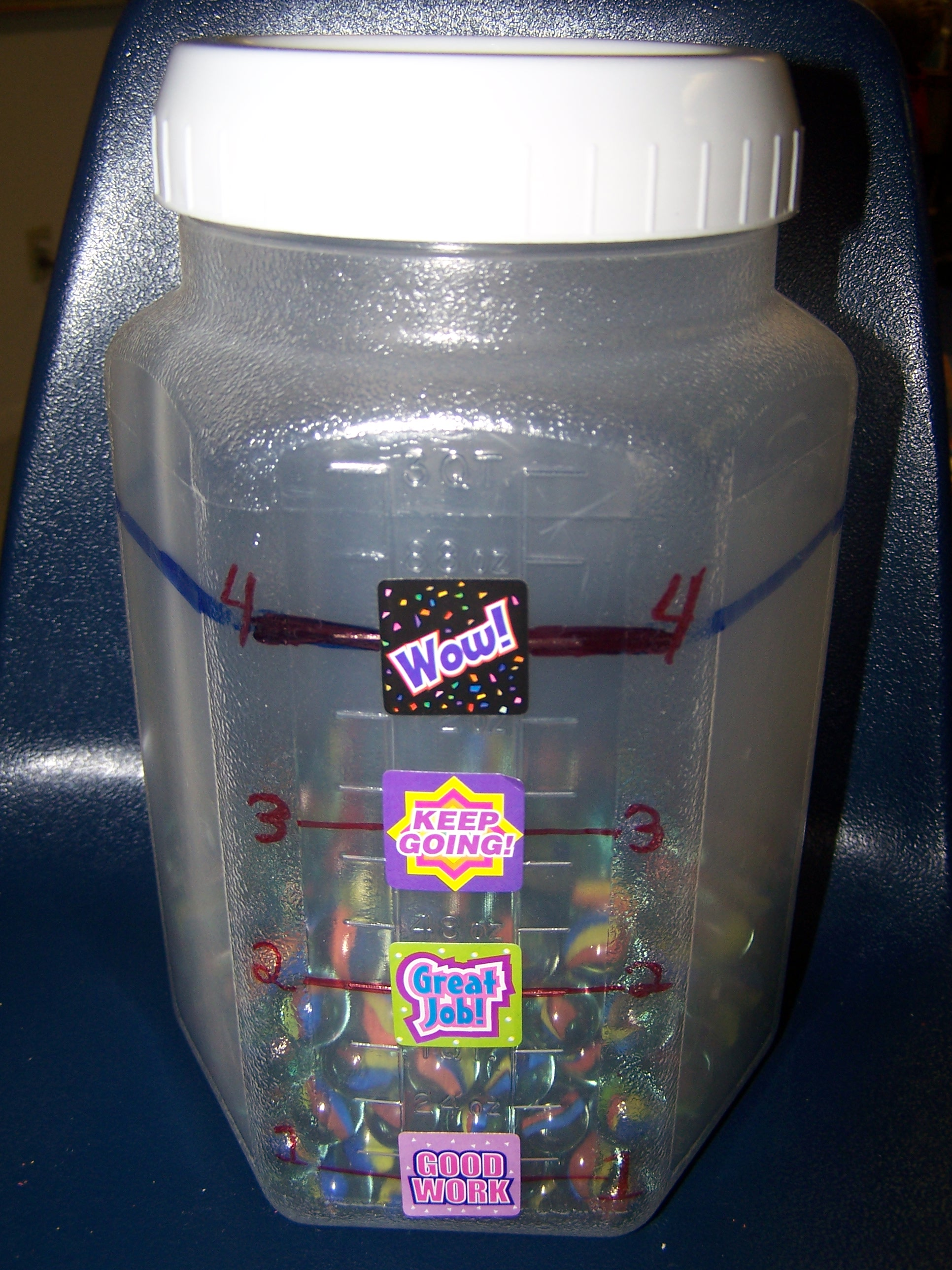 Classroom Marble Jar Ideas : View full size image